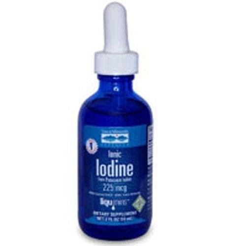 Trace Minerals Research Liquid Ionic Iodine From Potassium Iodide Supplement - 2oz