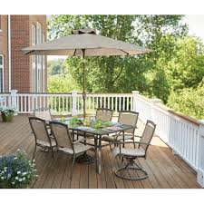 Living Accents Patio Heater Troubleshooting by Living Accents Colma Dining Set 7 Pc All Patio Collections
