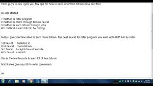 Bitcoin Faucet Rotator Faucetbox by Learn How To Earn Bitcoin Part 1 Simple Version Youtube