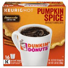 Keurig Pumpkin Spice by Upc 881334006957 Pumpkin Spice K Cups Coffee Pods 16ct Dunkin