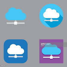 100 Flat Cloud Computing Icons Kalaful Series HighRes Vector