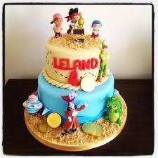 Jake and the Neverland Pirate kids birthday cake
