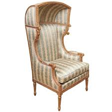 louis xvi chair antique hooded chair louis xvi style porter s chair