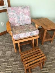 Auction Ohio | AMISH MADE GLIDER SET Rocking Chair Design Amish Made Chairs Big Tall Cedar 23 Adirondack Oak Fniture Mattress Valley Products Toys Foods Baskets Apparel Rocker With Arms Ohio Buckeye Rockers Handmade Saugerties Mart Composite Deck 19310 Outdoor Decking Pa Polywood 32sixthavecom Custom And Accents Toledo Mission 1200 Store Pioneer Collection Desk Crafted Old Century Creek