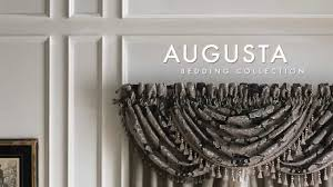 Waterfall Valance Curtain Set by Croscill Augusta Bedding Collection Youtube