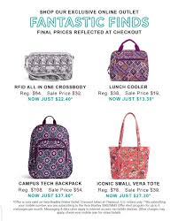 Vera Bradley Outlet Sale + 30% Off - Slickdeals.net Vera Bradley Handbags Coupons July 2012 Iconic Large Travel Duffel Water Bouquet Luggage Outlet Sale 30 Off Slickdealsnet Cj Banks Coupon Codes September 2018 Discount 25 Off Free Shipping Southern Savers My First Designer Handbag Exquisite Gift Wrap For Lifes Special Occasions By Acauan Giuriolo Coupon Code Promo Black Friday Ads Deal Doorbusters Couponshy Weekend Deals Save Extra Codes Inner