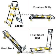 100 Moving Hand Truck China 4 In 1 Trolley Step Ladder Furniture