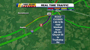 100 Truck Stop On I 95 Kim Deaner On Twitter SB Road Blocked From Exit 107 US301