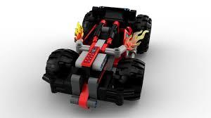 100 Lego Technic Monster Truck LEGO BASH 42073 Building Kit 139 Piece Toys Gamez