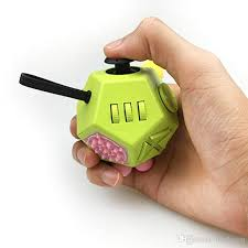 Fidget Dodecagon Cube Cubier 2nd Generation Advanced 12 Sided Prime Anti Anxiety Dice Edc Decompression Toys Stress Relieving Balls Foam
