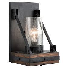 l lighting black outside lights recessed wall lights external