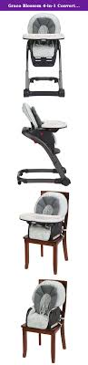 Graco Blossom 4-in-1 Convertible High Chair, McKinley. The ...