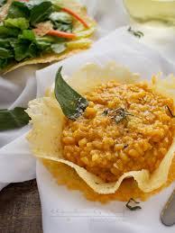 Pumpkin Risotto Recipe Vegan by Pumpkin Risotto In Edible Parmesan Bowls Foodiemamas The