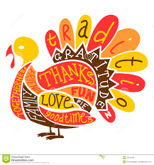 Thanksgiving clipart the word 3