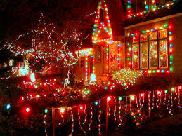 Peacock Lane Christmas Lights Portland OR