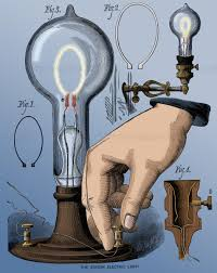 science source edison electric light carbon filament l 1880