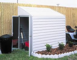Arrow 10x12 Shed Assembly by Arrow Yardsaver 4x10 Lean To Metal Shed Ys410 Free Shipping