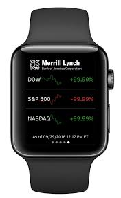 Track markets with your Apple Watch