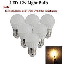 ashia light 12 volt led bulb soft white e26 base 3w