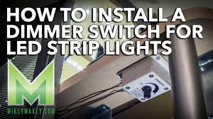 how to install a dimmer switch for led lights my desk