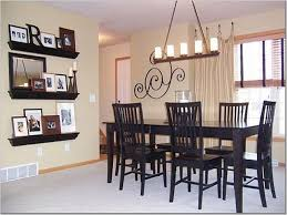 Simple Decoration Of Dining Room Unique Walls Decorating Ideas Wall Decor