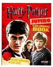 Harry Potter Jumbo Coloring Book With Three Marks