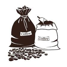Sacks With Coffee And Beans