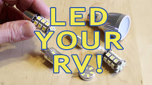 converting rv lights to leds part 1 incandescent halogen
