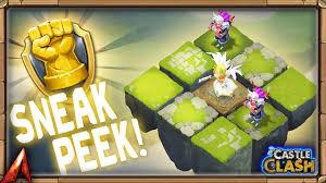 Castle Clash Pumpkin Duke Best Traits by New Labyrinth Feature Fame Rewards Sneak Peek Castle Clash Youtube