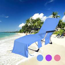 US $10.81 45% OFF|Summer Coming Solid Beach Chair Towel Superfine Fiber  Beach Chair Cover Chaise Lounge Towel For Pool Sun Lounger Hotel  Vacation-in ...