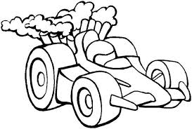 Race Car Coloring Pages And Book