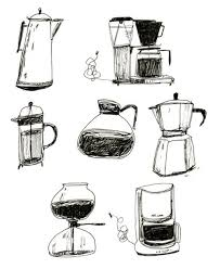 28 Collection Of Coffee Pitcher Drawing
