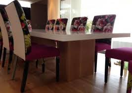 Solid Oak Pillar Legs On White Duco Table