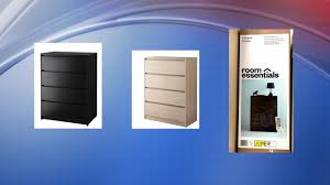 4 Drawer Dresser Target by Target Recalls Nearly 180 000 Dressers That Can Tip Over