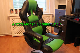 arozzi monza gaming chair youtube