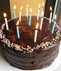 Light the candles Sing Happy Birthday
