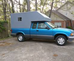100 Pickup Truck Sleeper Cab Over Camper For 8 Steps Instructables