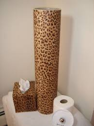 cheetah print bathroom accessories decoration