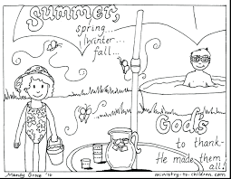 Christian Coloring Pages For Summer Religious Colouring Adults Preschoolers Free Download Full Size