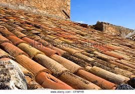 terracotta roof tiles italy stock photos terracotta roof tiles