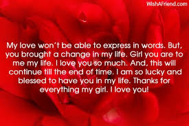 I Love You Letters For Her The Best Letter Sample