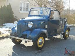 100 Crosley Truck Rare Antiquevintage 1939 Coupe Convertible 1st Year Includes Trailer