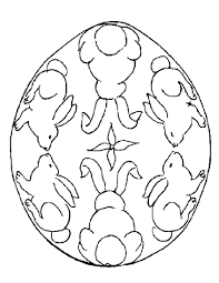 Easter Egg Design Coloring Pages 11