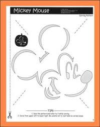 Mickey Mouse Vampire Pumpkin Stencil by Easy Jack O Lantern Stencils Minnie Mouse Pumpkin Carving