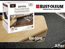 Rustoleum Cabinet Transformations Colors Youtube by Rust Oleum Countertop Transformation How To And Review Youtube