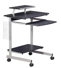 Techni Mobili Computer Desk With Storage by Techni Mobili Rolling Computer Desk Graphite Walmart Com