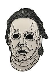 Halloween 8 Resurrection Mask by Halloween 8 Resurrection Enamel Pin