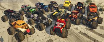 100 Monster Jam Toy Truck Videos Mega Pack AddOn GTA5Modscom