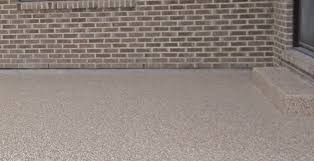 Outdoor Flooring Can Take A Beating Ideal Garage Solutions Help Get Rid Of The Appearance Cracked Concrete Worn Down Floors Stains And More