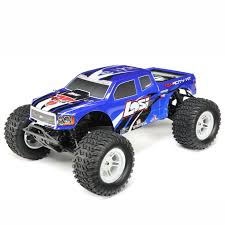 Losi 1/10 TENACITY 4WD Monster Truck Brushless Ready To Run With AVC ...